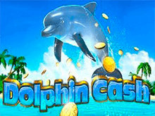 Азартная игра с бонус множителем Dolphin Cash
